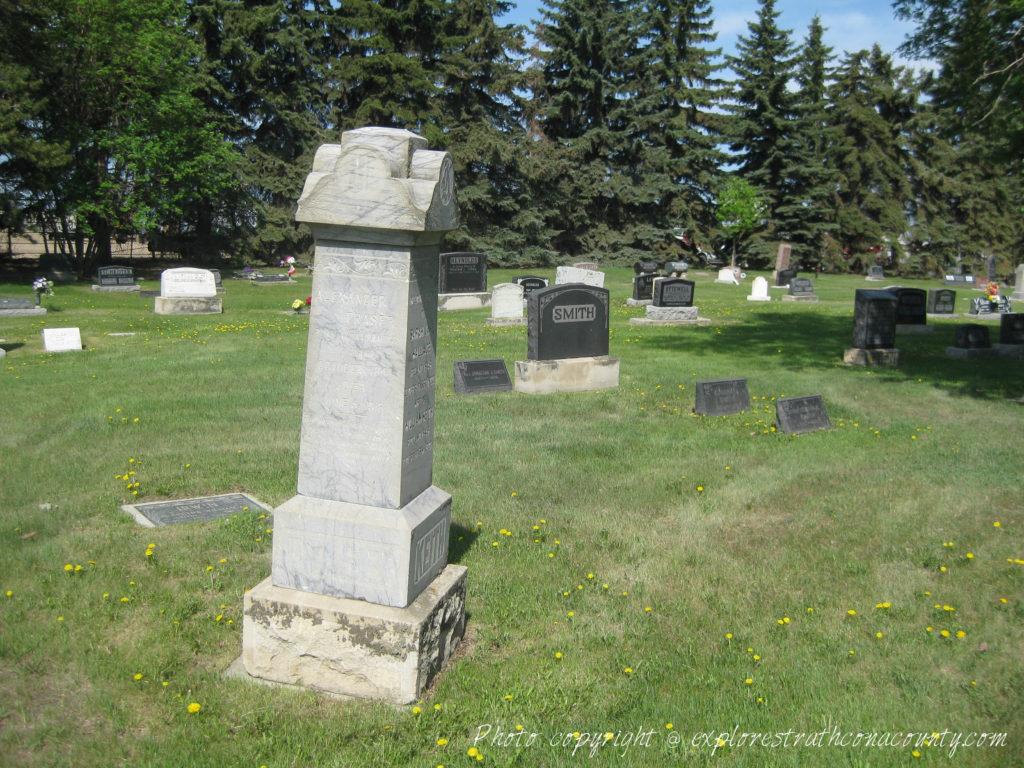 Cemeteries – Explore Strathcona County   Sherwood Park